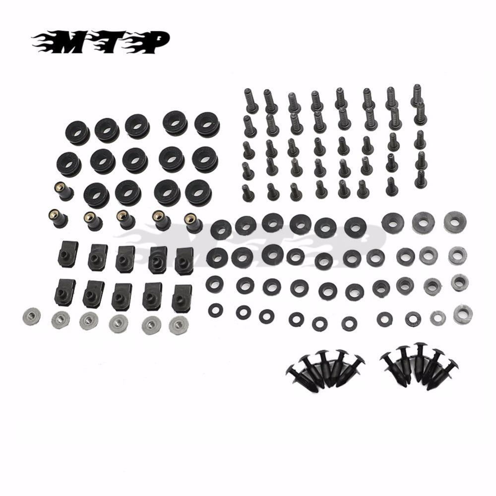 Fairing Bolts For <font><b>Suzuki</b></font> GSXR1000 <font><b>GSXR</b></font> <font><b>1000</b></font> K2 2000 2001 <font><b>2002</b></font> GSX-R1000 00 - 02 Motorcycle Complete Kit Screw Fastener Fixation image
