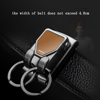 Поясной подвесной брелок, кольцо для ключей через ремень, высокое качество, автомобильный брелок, держатель для ключей, portachiavi chaveiro llaveros hombre