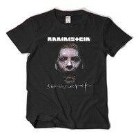 2017 New Rammstein T Shirt Metal Rock Band 100 Cotton Loose T Shirt Short Sleeve Tees