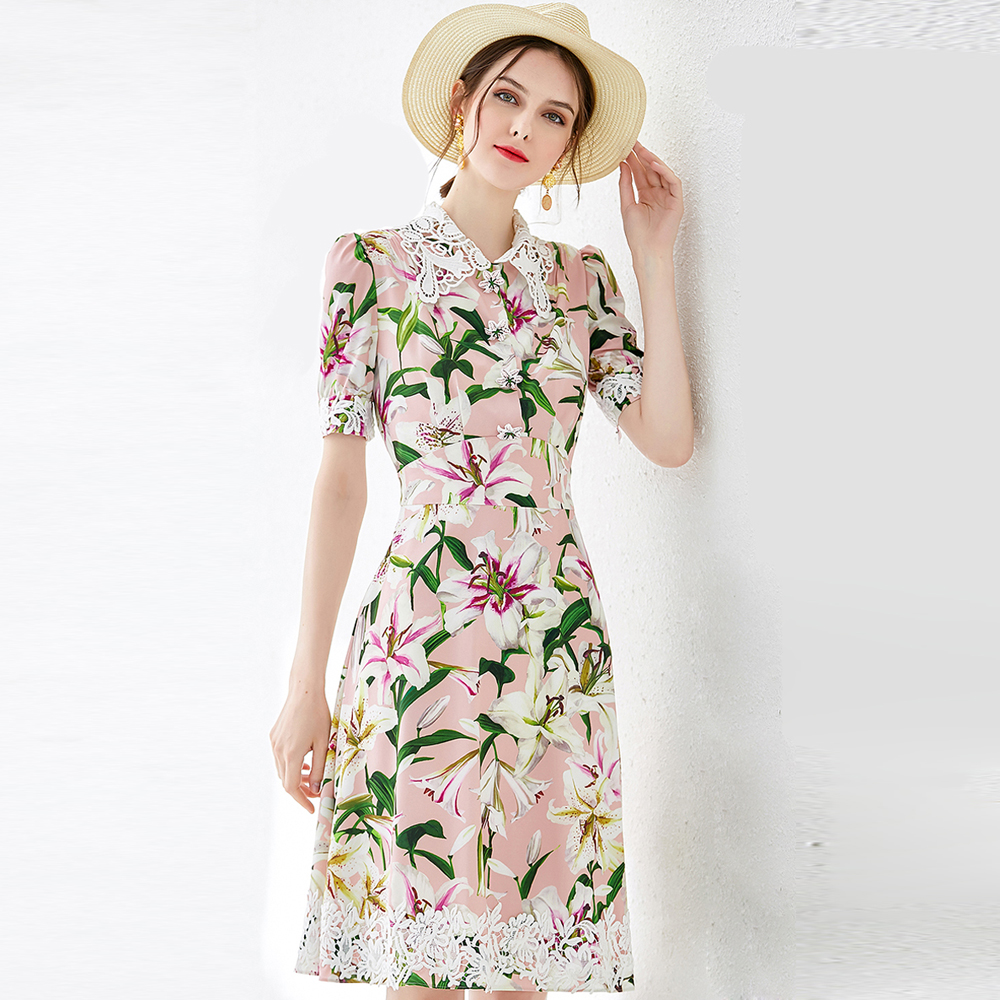Bunga Vestidos Pendek Jubah