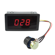 DC Governor Digital Display 12V24V Reducer Motor High Power Speed Regulating Switch PWM Poleless Control Board