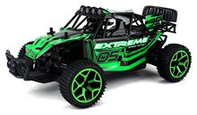 EBOYU(TM) High Speed Remote Control RC Truggy Truck Buggy 1:18 Scale 4 Wheel Drive 4WD Rechargeable w/ Working Front Suspension(China)