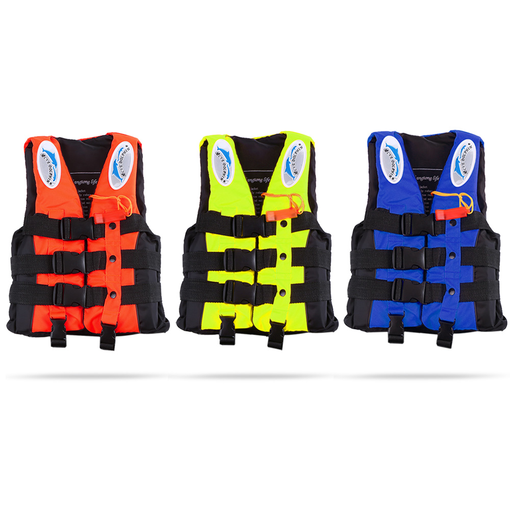 Water Sports Water Safety Products Adult Child Life Vest Aid Jacket Whistle Swimming For Drifting Boating Survival Safety Water Sport Wears