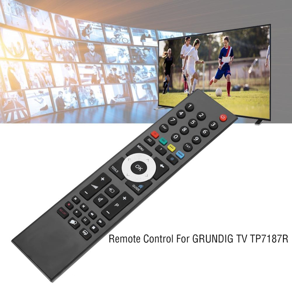 New Television TV Remote Control Replacement Service Smart TV Remote Control for GRUNDIG TV TP7187R