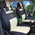 Tampas de Assento Do Carro Universal Para todos os modelos Ford Focus mondeo Fiesta S-MAX Borda Explorador Taurus PRETO/CINZA/VERMELHO acessórios do carro