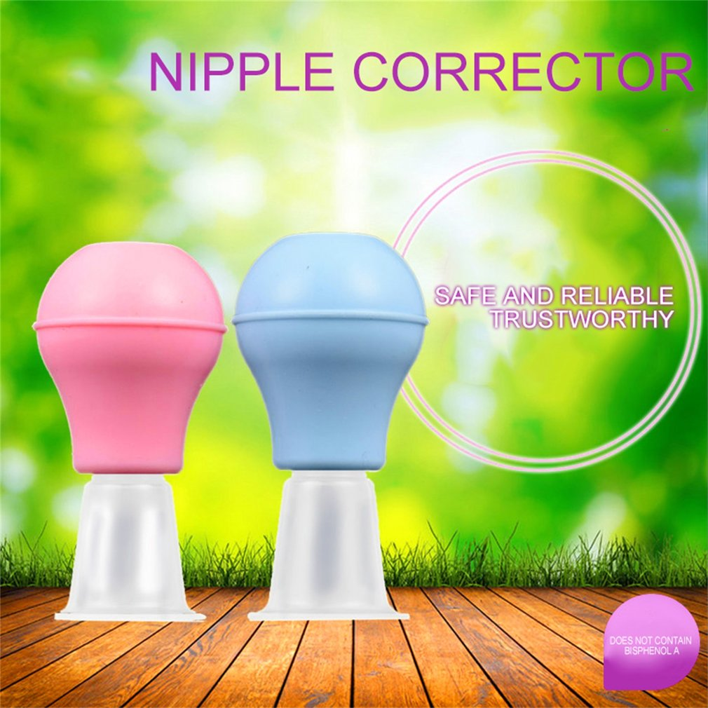 Portable Women Silicone Nipple Orthotics Pump Suction Corrector Puller Retraction Massage Tools Manual Breast Health Care