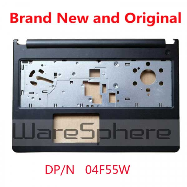 New for Dell Inspiron 15 3000 3567 3565 Palmrest Top Cover Upper Case 4F55W 04F55W Black