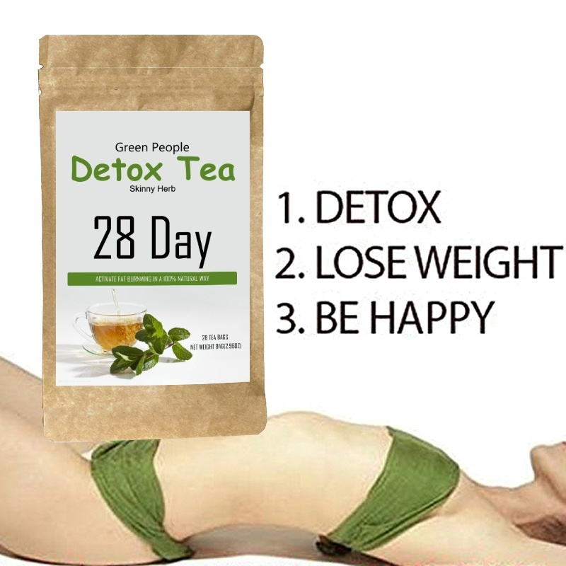 28 Days Slimming Tea 100% Pure Natural Detox Tea Fat Burning Tea For Weight Loss Women and Men Healthy Skinny(China)