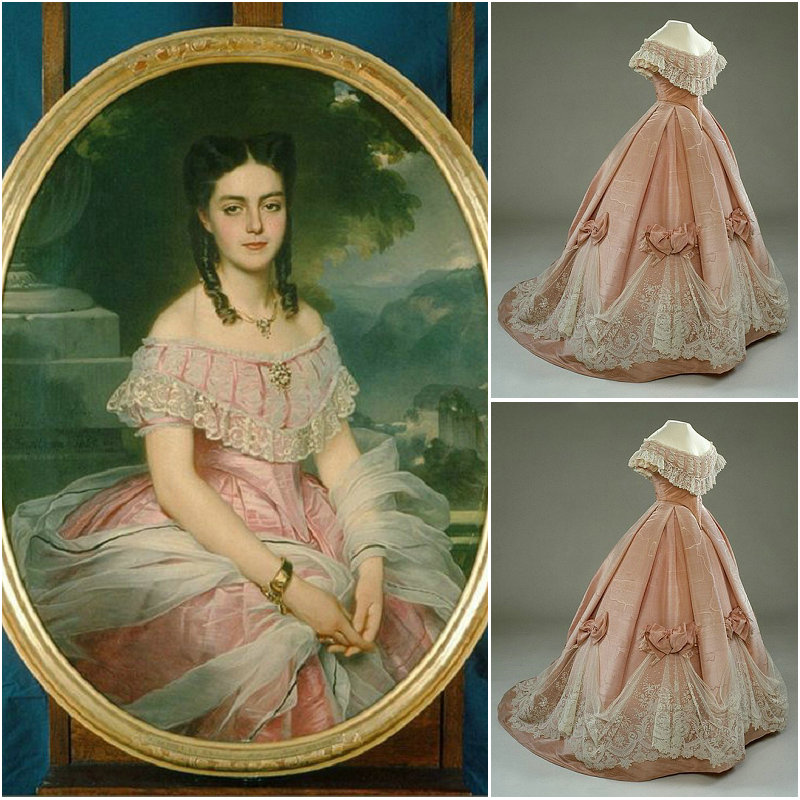 2017 New!Luxs Vintage Victorian Dresses 1860s Scarlett Civil War Southern Belle Dress Marie Antoinette Dresses US4-36 C-808