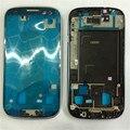 Оригинальный Серебряный Синий Серый Передний Корпус Рамка Рамка для Samsung Galaxy S3 GT-I9300 i9305 9300i Плиты Ближний Рамка Передней Панели
