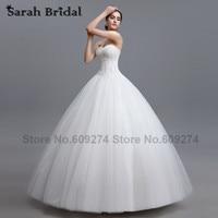Country Western White Beaded Wedding Dresses 2015 Fashionable Garden Ball Gown Bridal Wedding Gowns Vestidos De