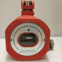 Dry contact Explosion proof UV flame detector A705/UV Fire alarm relay output Fault relay output EXdIICT6