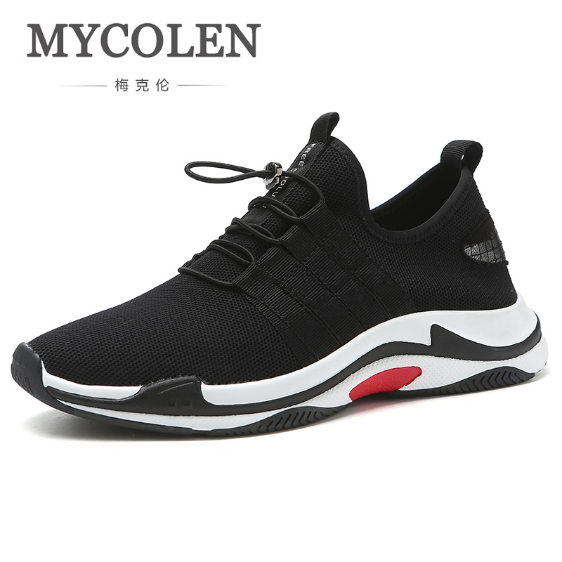 MYCOLEN Recommend Man Casual Shoes 2018 Comfortable Breathable Walking Shoes Big Size Mesh Lightweight Sneaker Shoes Ayakkabi