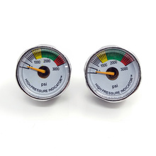 Ny 3000 PSI Paintball Micro Gauge-Sliver