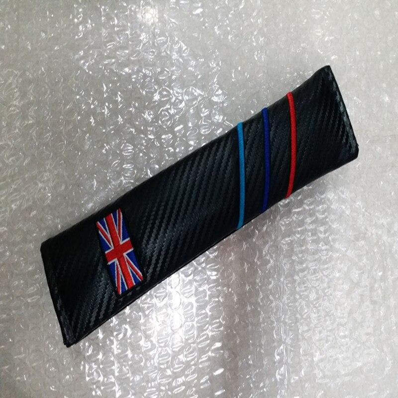 2pcs/lot car styling Carbon Fiber Seat Belt Cover Shoulder Pad for M E90 E91 E92 E93 M3 E60 E61 F10 F07 M3 M5 UK Germany Series