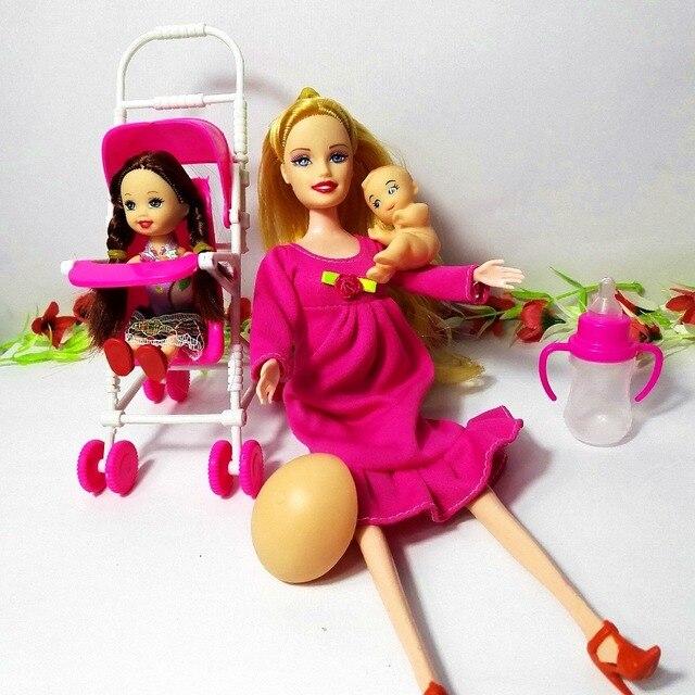 Venta caliente muñecas muebles niños jugar casa conjuntos para ...