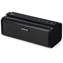 TOPROAD Портативный 10 Вт Bluetooth динамик HIFI беспроводной стерео большой мощности Soundbox сабвуфер колонки поддержка TF FM радио AUX