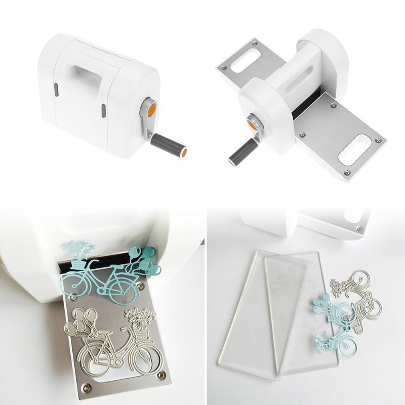 Stanzen Präge Maschine Scrapbooking Cutter Stück Gestanzte Papier Cutter Gestanzte Maschine Hause DIY Präge Stirbt Werkzeug