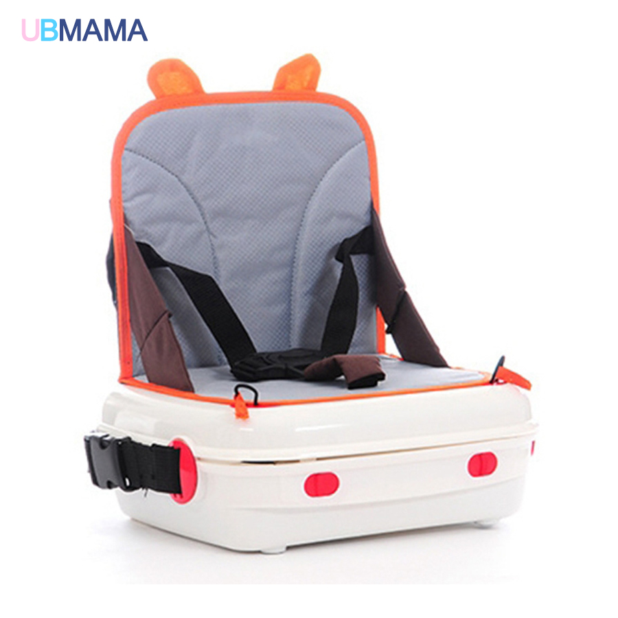 Multifunction plastic patchwork travel Mummy bag Green orange Storage Box Non-slip Elevated baby chair Can be stored c1cy plastic hanging storage box green