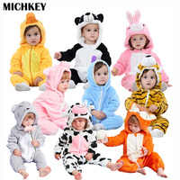 michkey-2018-cute-cartoon-flannel-baby-rompers-novelty-rabbit-cotton-boy-girl-animal-rompers-stitch-babys-sets-baby-kigurumi
