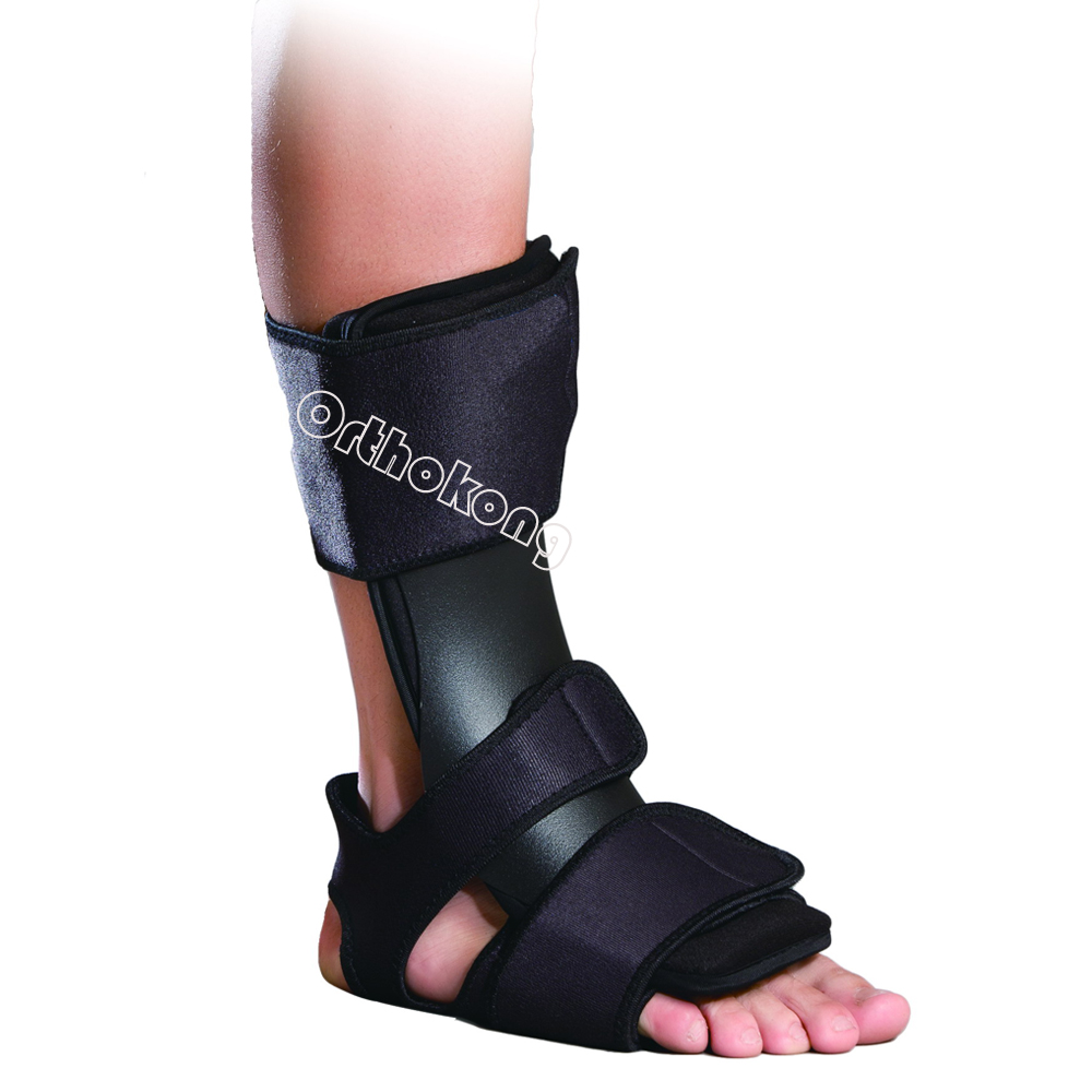 Dorsal Night Splint Orthoapaedic Rehab Overnight Treatment For Plantar Fasciitis/Achilles Tendonitis/Drop Foot/Post-Static Pain foot drop orthoses plantar fasciitis ankle achilles tendinitis supporting feet correction