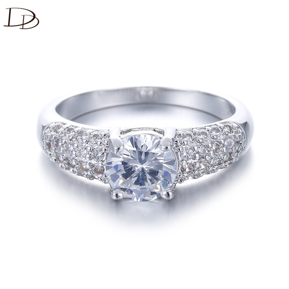Dodo Recommend Anel 925 Sterling Silver Rings For Women Aaa Zircon Wedding  Jewelry Vintage Bijoux Femme Wholesale Aneis Dd024