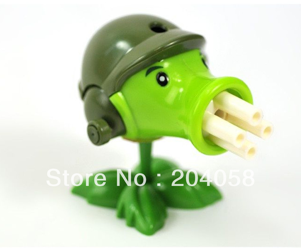 Free shipping 1pc new Plants vs Zombies Figures Fired