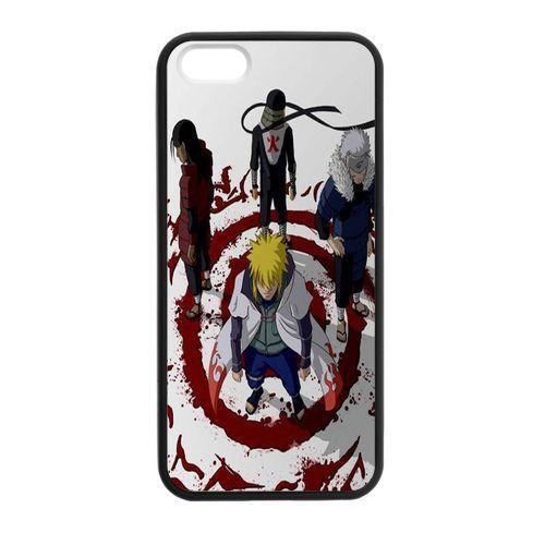 Caso Capa para o iphone 4 4S Naruto Todos Hokage 5 5S 5C SE 6 6 S 7 Plus  Samsung Galaxy S3 S4 S5 S6 S7 S8 Mais Borda A3 A5 A7 7c36cd6c2d
