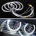 4 Шт. Автомобилей CCFL LED Angel Eyes DRL Дневного Света 6000 К Холодный Белый Фара Для BMW E46, E36, E39