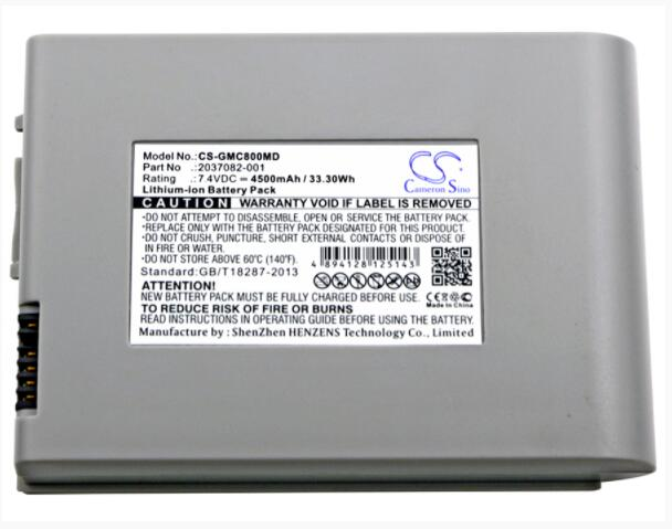 Cameron Sino 4500mAh battery for GE MAC 800 MAC800 2037082 001