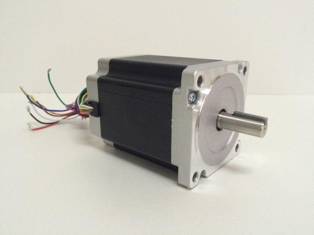 все цены на 3pcs 1.8 degree Nema 34 stepper motor 86HS115-4208 with 8 wires/4.2A/3.78V/8.7N.M CNC Mill Cut Engraver /3D printer