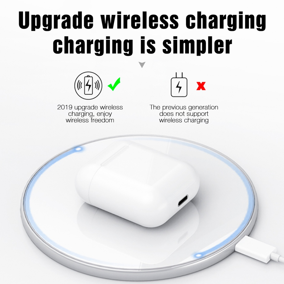 i60 TWS Pop Up 11 Wireless Bluetooth Earphone Wireless Charging W1 Chip Bass Headphones Wireless Headset PK i12 i20 i10 i30 TWS (5)