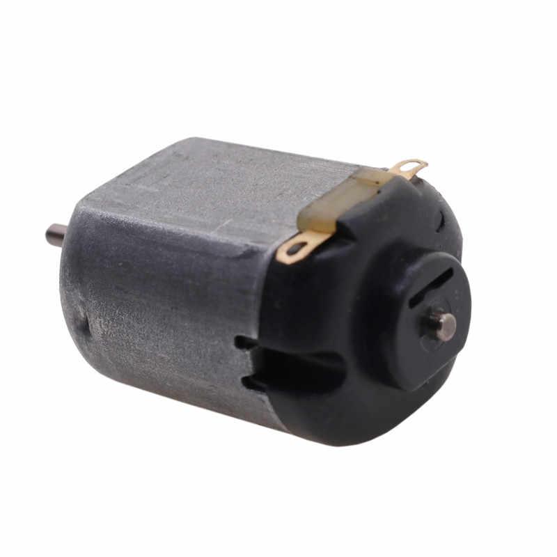 Micro 130 moteur à courant continu petit ventilateur jouets moteur Miniature actionneur linéaire à courant continu moteur pas cher moteurs de bateau actionneur linéaire 600ma 14500r/min