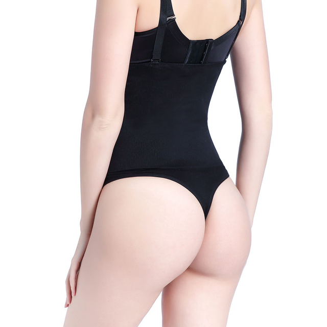 e3a424e4cbae4 MYLEY Body Shaper Slimming High Waist Firm Control Thong Butt Lifter  Panties Shapewear Slim Belts for Women Corset Waist Trainer