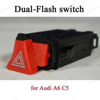 Interrupteur de lampe d'avertissement 9 broches 4B0 941 509 c pour interrupteur double Flash a-udi A6 C5