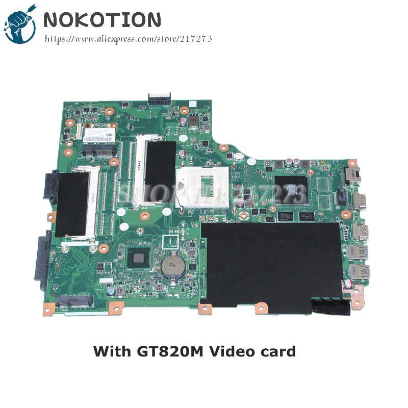NOKOTION NBMHL11001 EA VA70HW MAIN BOARD For Acer aspire V3-772G Laptop motherboard DDR3L GT820M Video card va70hw main bd gddr5 motherboard for acer aspire v3 772g laptop main board ddr3 geforce gtx760m 100
