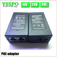 CCTV Security 48V 0 5A 15 4W POE Wall Plug POE Injector Ethernet Adapter IP Camera