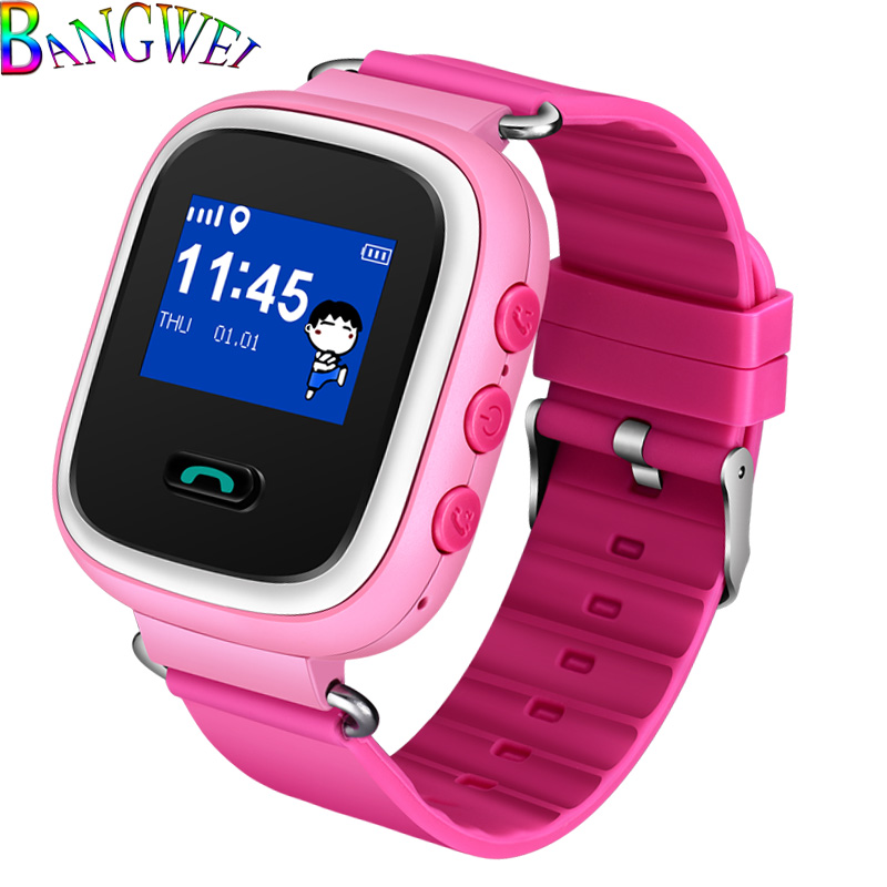 BANGWEI Alarm-Clock-Set Tracker Support Smart-Watch Children Fashion Battery Sim-Card