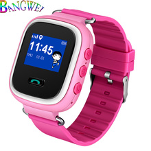 BANGWEI Large Capacity Battery Fashion Children Smart Watch Positioning LBS Tracker Support SIM Card Alarm Clock Set Wat