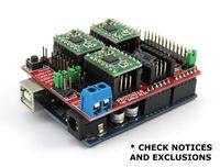 Arduino CNC Shield V3.51 GRBL v0.9 compatible Uses Pololu Drivers