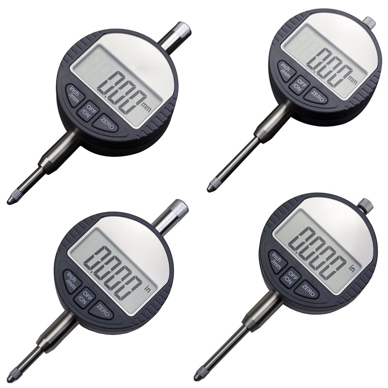 Dial Indicator Gauge Measuring Tools Electronic Micrometer Digital Micrometro Metric/Inch ALI88 0 12 7mm 0 5 dial indicator inch mm electronic micrometer 0 01mm digital micrometro with data ouput port