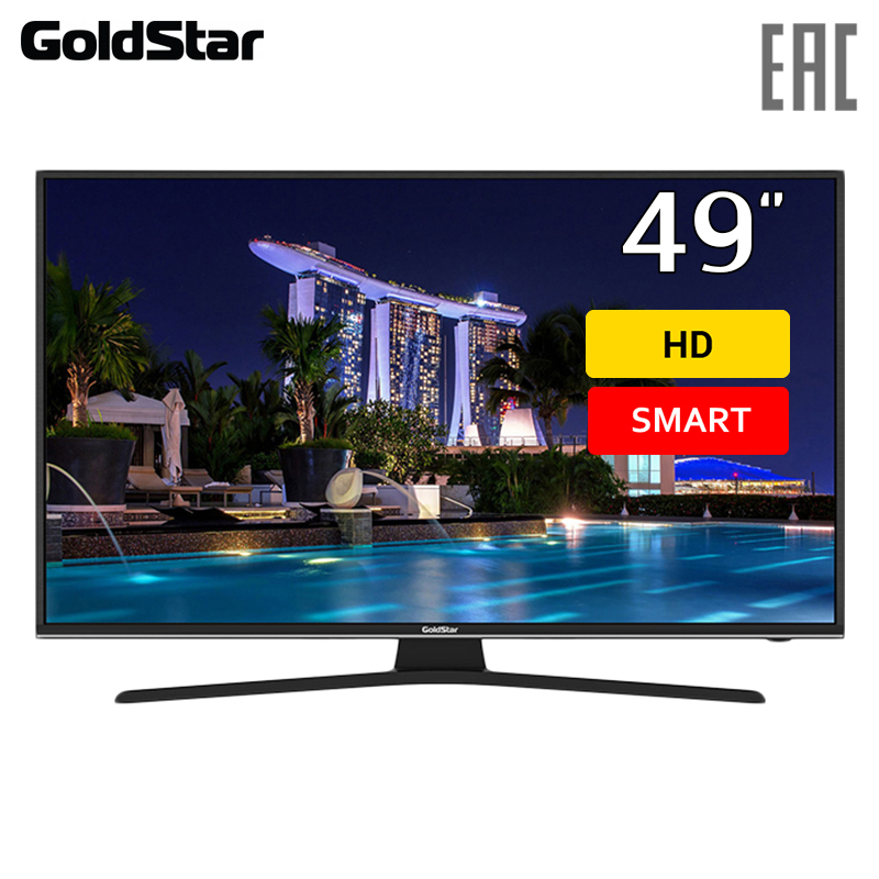 Фото - TV 49 Goldstar LT-50T600F FullHD SmartTV 4049inchTV dvb dvb-t dvb-t2 digital chunghop universal learning remote control controller l309 for tv sat dvd cbl dvb t aux big key large buttons copy