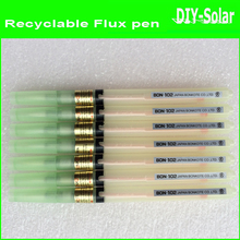 2017 new 50pc Recyclable empty flux pen–extra add Soldering rosin/Solder paste DIY Solar cells Panels solering/PCB board solar