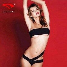 SWIMMART swimsuit push up black temptation Brazilian one-piece bikini swimwear women one piece swimming suit for swim