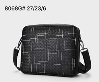 2019 High quality Hand knit Clutch bag Man Genuine leather New pattern Cowhide The single shoulder bag High capacity