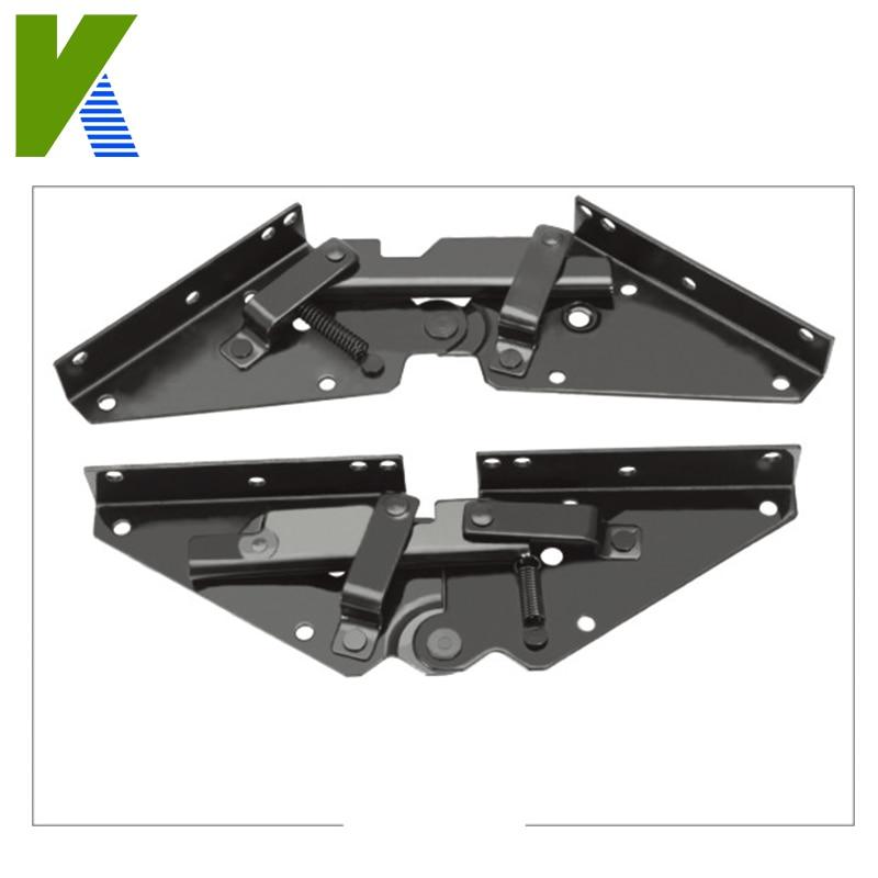 Sofa bed hinge metal furniture hardware mechanism click for Click clack sofa bed mechanism