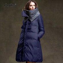 ARTKA Winter Jacket Women 90% Duck Down Coat 2018 Warm Parka