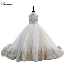 Robe de soirée princesse pour fille