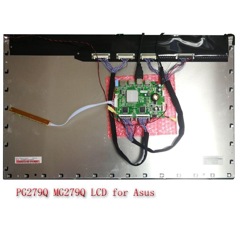"""LCD Q270DTA00 M270Q008 V0 002 V0 M270DTN01.3 1.5 27 """"2 K 144HZ Pour Asus PG279Q PG278QR viewsonic XG2703-GS AIO Y910-27ISH d'affichage"""