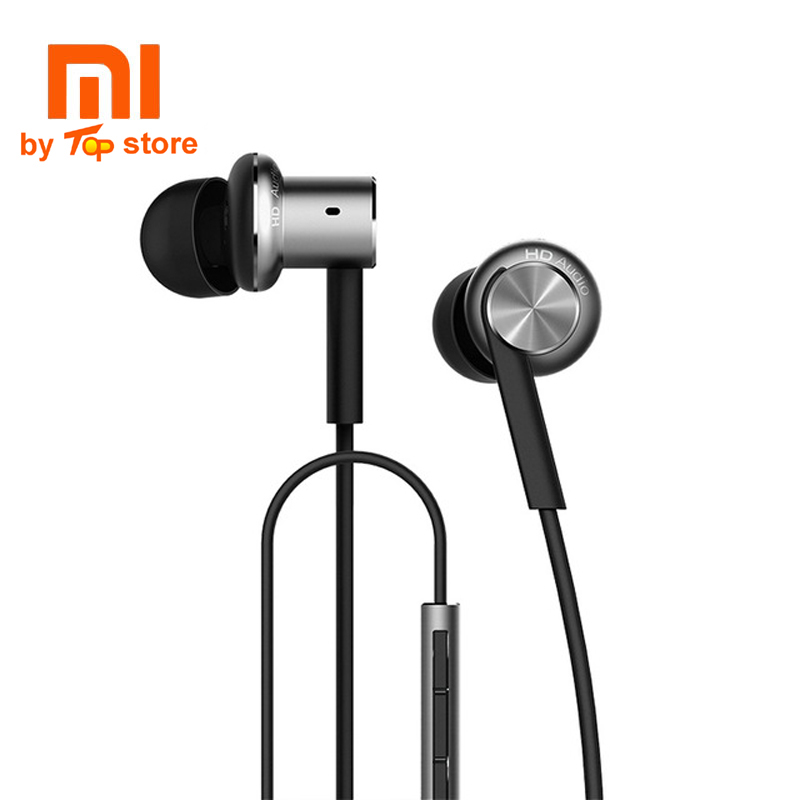 Original Xiaomi xiomi Mi Hybrid multi-unit Earphone with Mic Remote In-Ear piston 3 Headset earbuds for  Mobile Phone dual core original xiaomi xiomi mi hybrid earphone 1more design in ear multi unit piston headset hifi for smart mobile phone fon de ouvido
